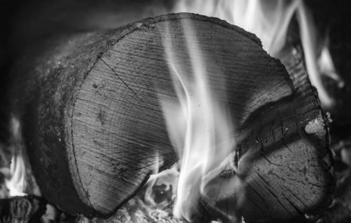 wood  photography  smoke  dark  log  color