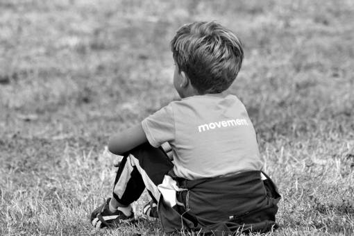 boy sitting nature summer child grass outdoors outfit season kb