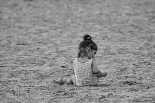 beach toddler pretty sand vacation child fun seashore  children