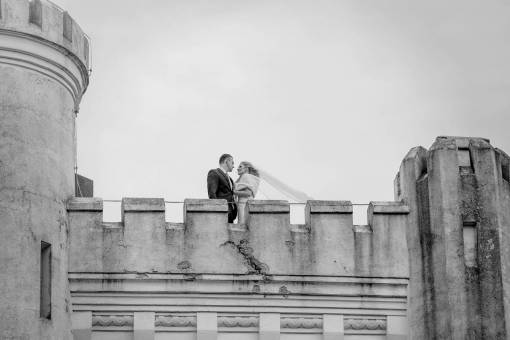 bride tower fortress groom castle wind outdoors architecture building