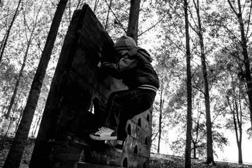 climber playground climbing child boy skateboard trees forest board tree