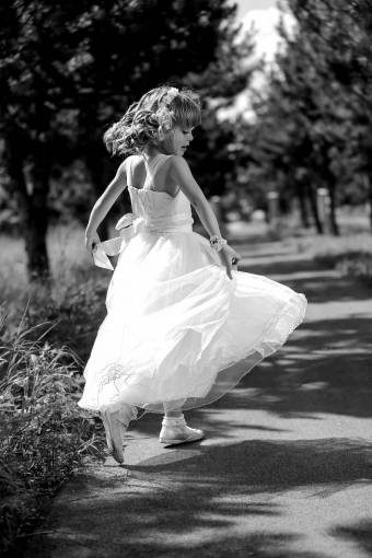 dancing pretty jumping outdoors happiness child innocence summer  children