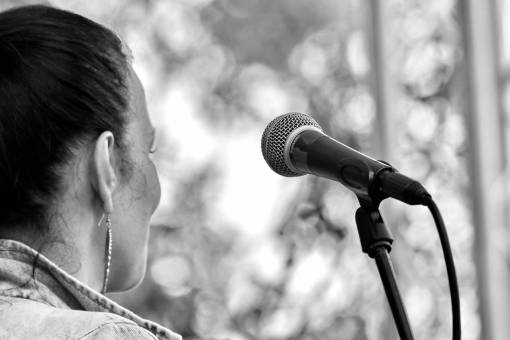 microphone music singer festival portrait musician concert performance landscape