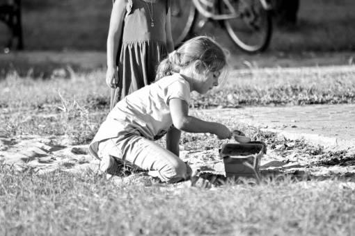 playground playing sand pretty children childhood toys fun child grass