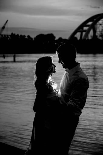 romance beach embrace boyfriend gorgeous pretty harbor sea woman