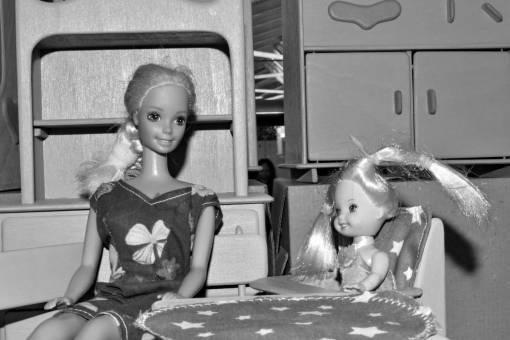 toys baby fun woman parenthood motherhood dolls indoors