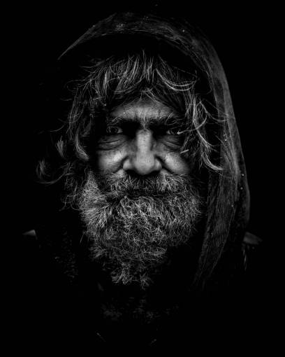 man  person  black and white  people  old