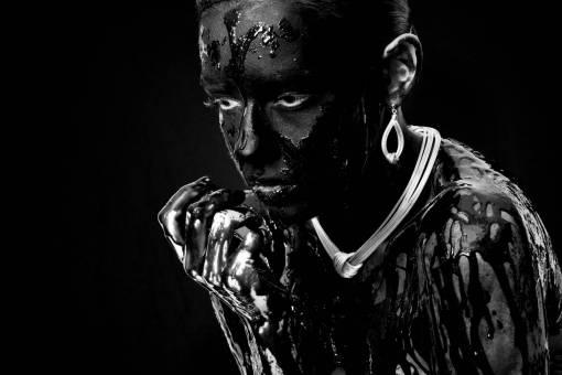people  dark  statue  portrait  studio