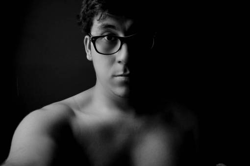 black and white  people  male  model  young