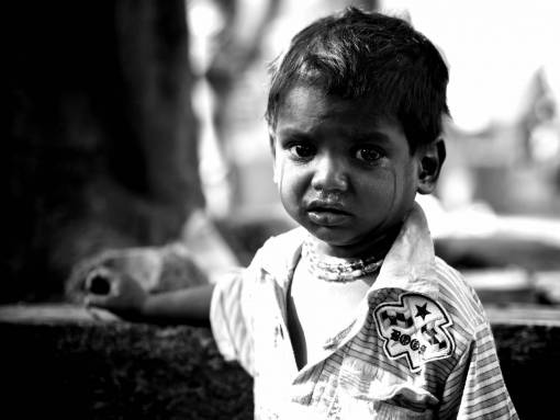 person  black and white  people  street  boy