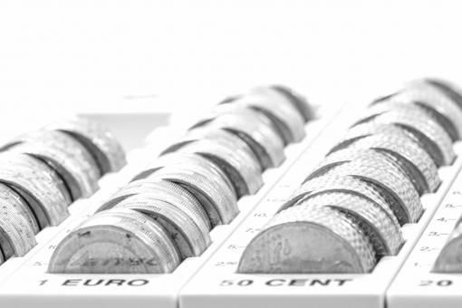 business  close up  cash  bank  silver