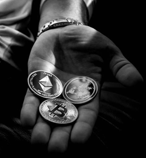 hand  coin  metal  brass  finger  fashion