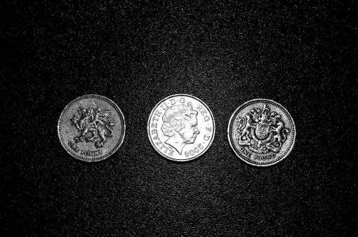 macro  money  circle  one  background