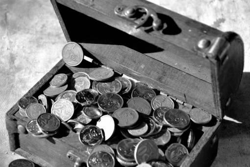 wood  metal  money  material  cash