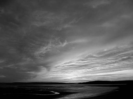 beach  sea  coast  ocean  horizon  light