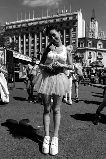 girl  street  crowd  carnival  canon