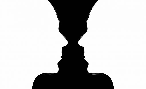 hand  silhouette  person  vase  thought