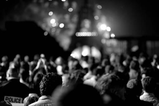 music  blur  people  night  eiffel tower
