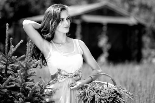 nature  girl  woman  flower  model  spring