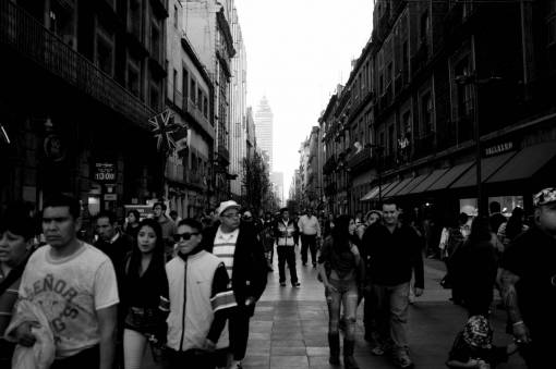 pedestrian  people  road  street  city