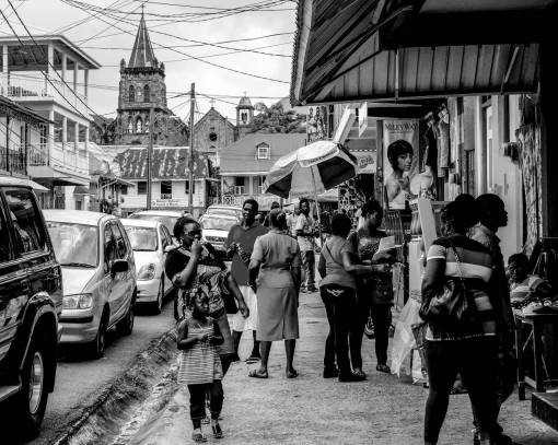 pedestrian  road  street  city  urban  crowd