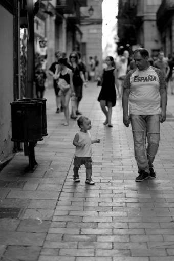 pedestrian  walking  people  road  street