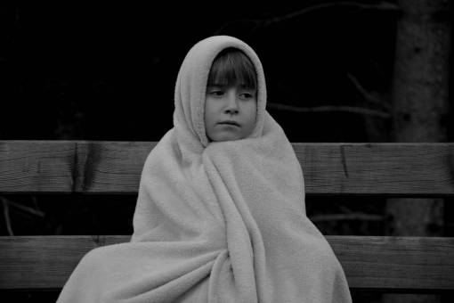 person  cold  girl  woman  alone  evening