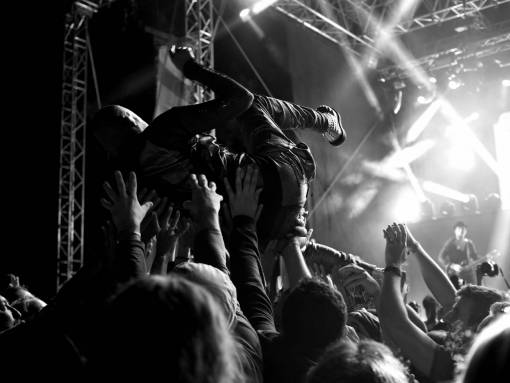 person  music  guitar  crowd  audience
