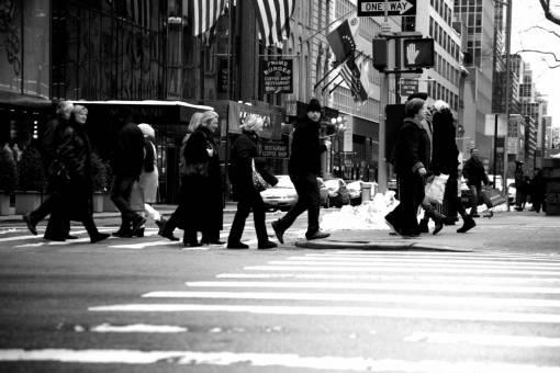road  street  manhattan  crowd  nyc  lane