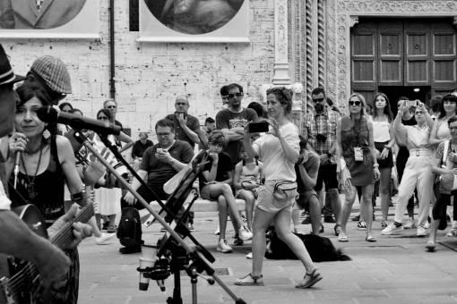 UmbriaJazz 2019  street performance  event