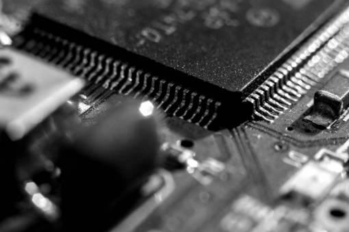 technology  green  close up  electronics