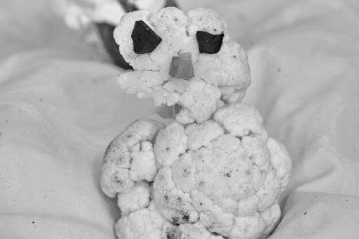 cauliflower creativity decoration funny food produce vegetable nutrition delicious health