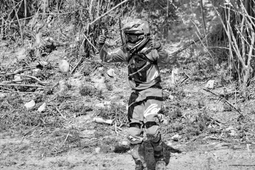 excitement motorcyclist motocross mud exhibition soil helmet adventure portrait man