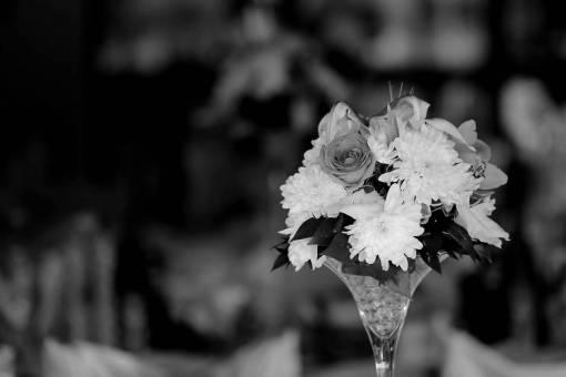 flower crystal vase chrysanthemum flowers rose bouquet wedding decorative