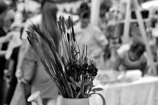 flower decoration still dry festival arrangement ritual celebration bouquet