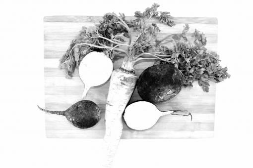 radish parsley vegetable kitchen herb table root leaf cooking health food