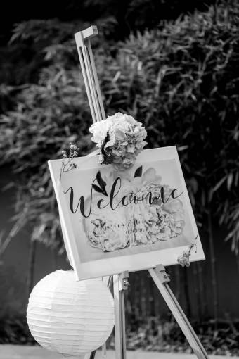 welcome venue nature flower romantic sign outdoors leaf summer